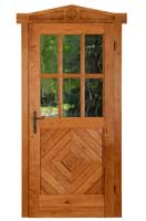 Natural style door